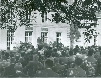 Kingswood Gardens Dedication Ceremony, 1953